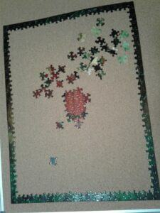 Puzzle border is done